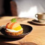 Gallery & Cafe ENSOU - 柑橘のタルト