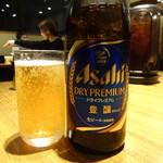 博多 一風堂 - 瓶ビール(500円)