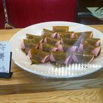 菓匠 幹栄 × Cafe Latte 57℃ - さくら餅