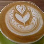 菓匠 幹栄 × Cafe Latte 57℃ - カフェラテ