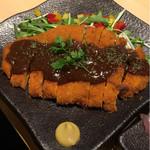 62753235 - 地鶏の味噌カツ(780円)