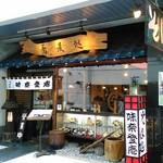 味奈登庵 - 店舗外観 正直、本店とは思わなかったぁ。