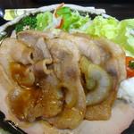 あおき - 豚肉生姜焼き