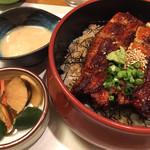和食処 まさご - ひつまぶしセット(自然薯)