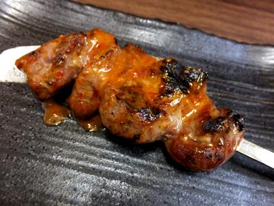 三福 - カシラ(辛味噌)120円