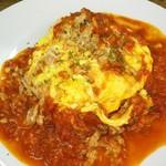 オムライス&cafe STYLE - ツナのトマトソースオムライス