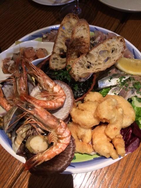 イル バーカロ アルマ - 東北魚介のヴェネツィア風盛り合わせ(3人前)