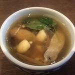 バーンタイ - 料理写真:セットのスープ
