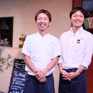イタリアンが好きな二人の『想い』が詰まった小さなお店です
