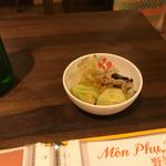 ベトナム料理クアンコム11 - 付き出し