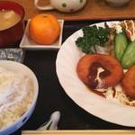 まーくん - カニクリームコロッケ定食