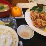 まーくん - 鶏のから揚げ定食