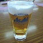 武甲温泉 - ドリンク写真:生ビール