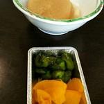 さかなや食堂 - 煮物と漬物