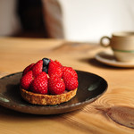 Gallery & Cafe ENSOU - ドリンク写真:イチゴのタルト