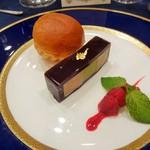 ホテルニューオータニ - 継承のフォアグラのテリーヌとピスタチオ香るアンブロワジー 温かなブリオッシュと共に
