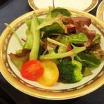 ホテルニューオータニ - 季節野菜の菜園風サラダ