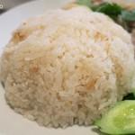 パタナ - ご飯は長粒米とジャポニカ米のブレンド
