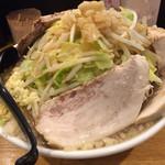 麺や 久二郎 - 豚ダブルは、ほぼ脂身