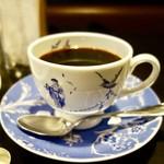 62767855 - [2017/01]宮越屋珈琲ブランチセット・焼チョコトースト(780円)