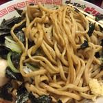 ラーメン☆ビリー - 平打ちゴワゴワ麺