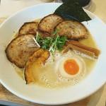 三代目ユタカ - 炙りチャーシュー鶏Soba[¥1050]