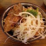麺屋 八頭龍 - おろち丼