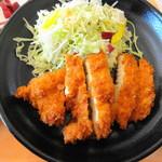 生駒市役所 食堂 - チキンカツ