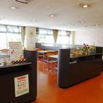 生駒市役所 食堂 - 店内
