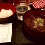 62771269 - 朝定食(お蕎麦 納豆ご飯のセット) 350円