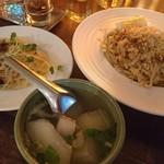 タイ料理 スワンナプームタイ - ヌードルセット パッタイ980円