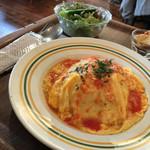 ニムカフェ - 料理写真:オムライスセット