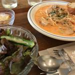 ニムカフェ - トマトクリームパスタ