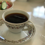 カフェ・マレット - セットのコーヒーです。