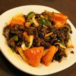 ネパール家庭料理 ホワイトヒマラヤ - スクティ(800円)2017年2月