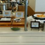 能登ロイヤルホテル - 納豆、海苔など和食のおかずと…スイーツの一部