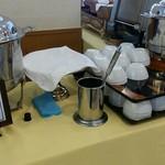 能登ロイヤルホテル - 温かいスープも2種類ありました