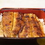 魚竹 - 料理写真:ご飯の中にも鰻が入っています。