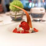 レストラン・ブリーズ・ヴェール - フロマージュブランのムース、アールグレイの香プリュイルージュ
