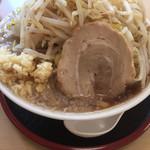 ガッツリラーメン 暁 - らーめん(大盛) ¥730