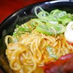 大衆食堂シックダール - 柔らかい麺・チャットマサラ