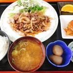 さくら亭 - サクラ焼肉定食