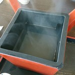 味乃家 魚野川 - 蕎麦湯