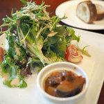 CAFE ATIK - ランチの前菜・サラダ