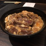 焼肉ホルモンせいご 名駅西口店 - 松阪牛シンシンの牛カツ丼