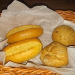 Itariambaruaoneko - チャージのパン300円×2