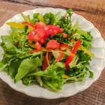 LOOSE - 有機野菜のグリーンサラダ¥480