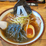 クリカラ - 料理写真:児島デニムラーメン