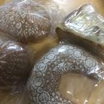 にじわパン - 購入商品4種