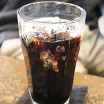 茶々 - ランチ1,400円のアイスコーヒー